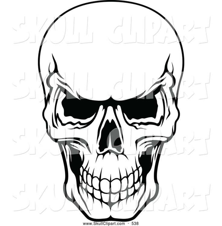 Skeleton Clipart Black And White