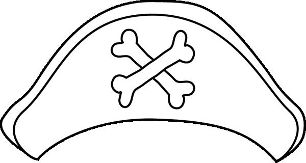 600x320 Pirate Hat Clip Art