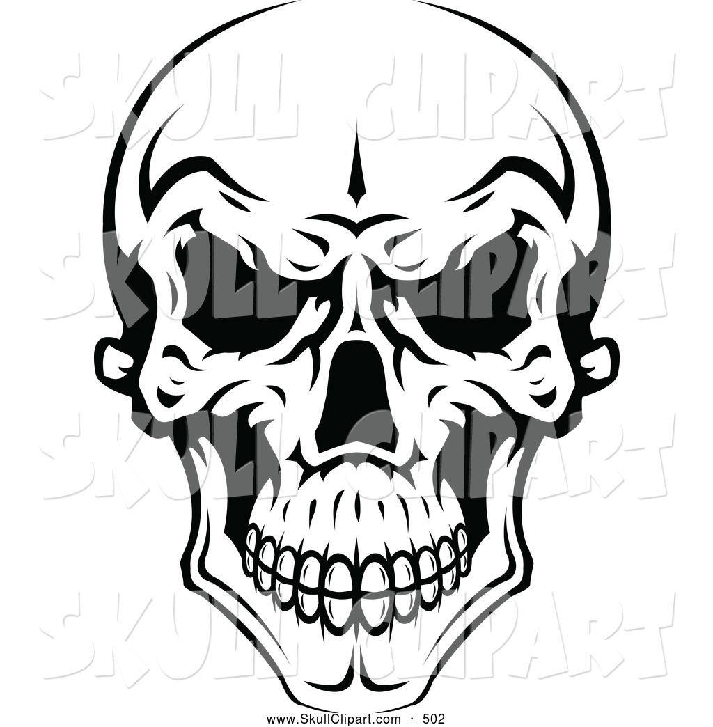 1024x1044 Royalty Free Black And White Stock Skull Designs