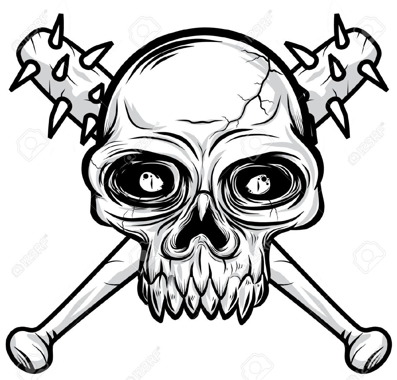 1300x1242 Skeleton Clipart Deadly
