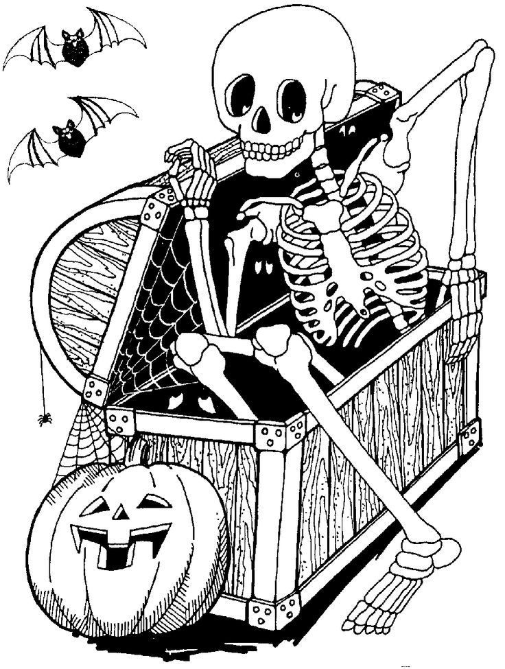 Skeleton Clipart Halloween
