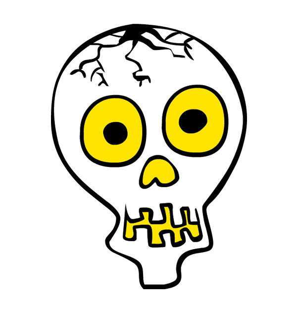 600x630 Skeleton Clipart Skeleton Face