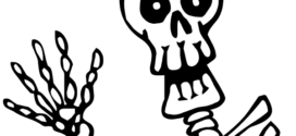 272x125 Halloween Clipart Skeleton Festival Collections On Skeleton