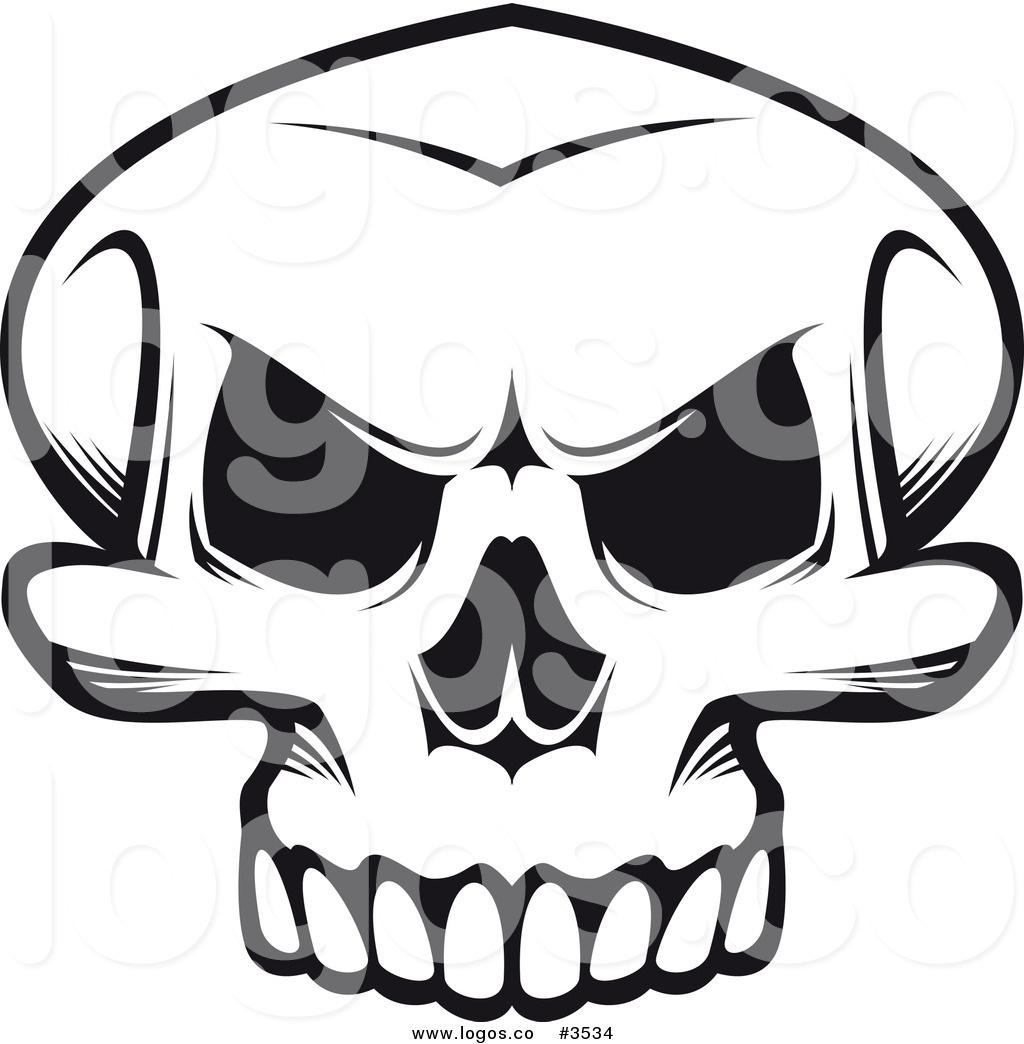 Skeleton Head Clipart | Free download best Skeleton Head ...