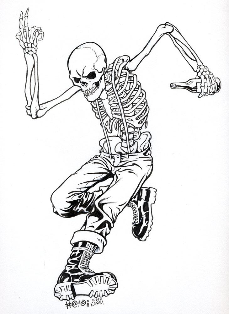 730x1000 Oi Skeleton By Fantagor72