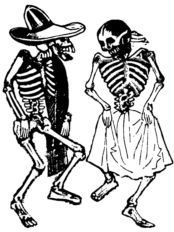 600x800 The Best Mexican Skeleton Ideas Skeleton Couple