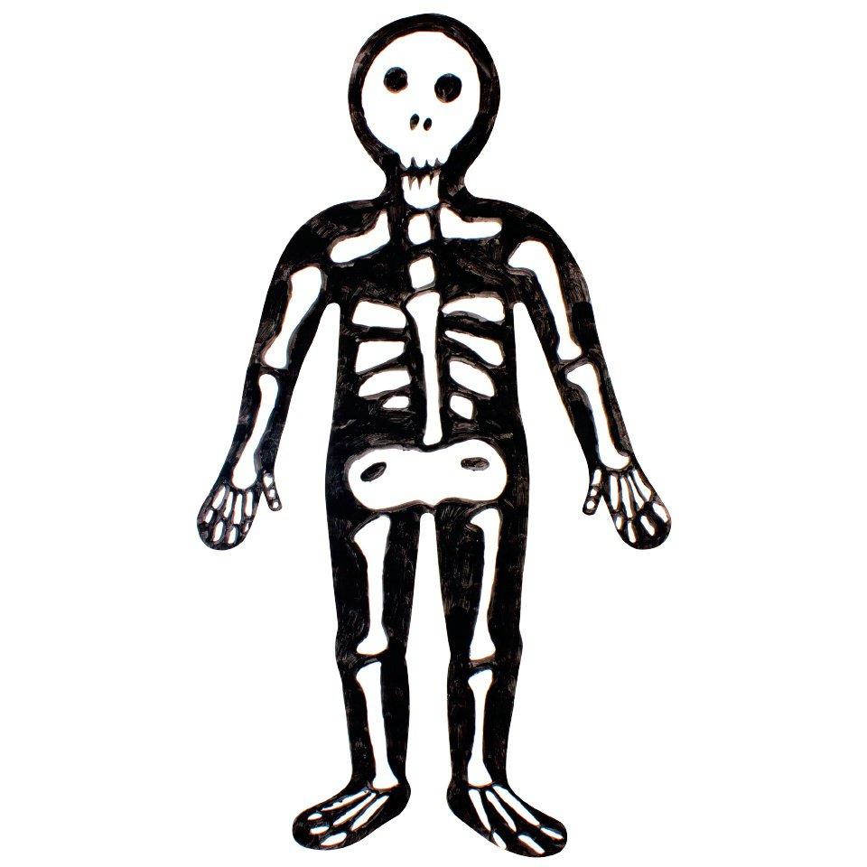 960x960 Skeleton Clipart Skeleton Body