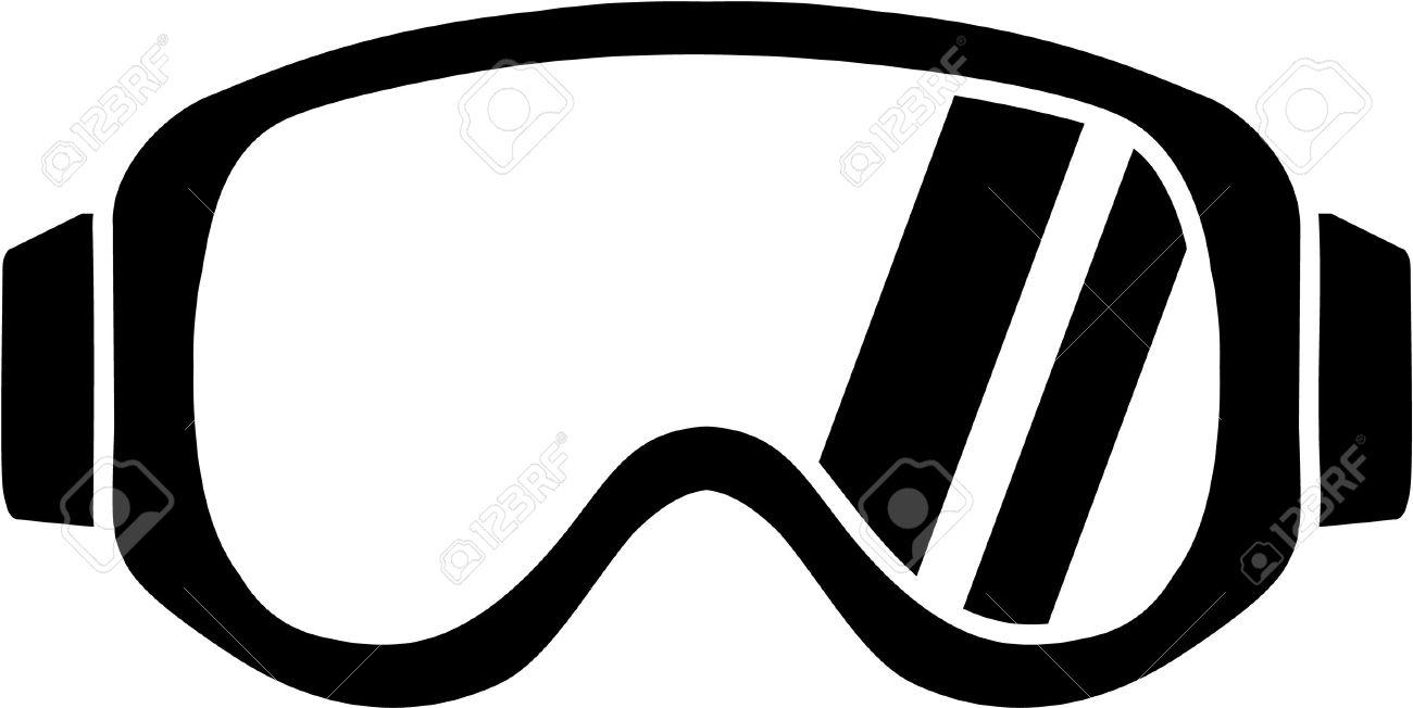 1300x652 Goggles Clipart Ski Goggles
