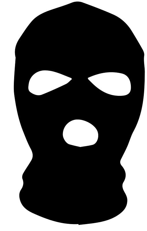 509x800 Mask Clipart Goon