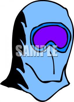 255x350 Royalty Free Clipart Image Ski Mask