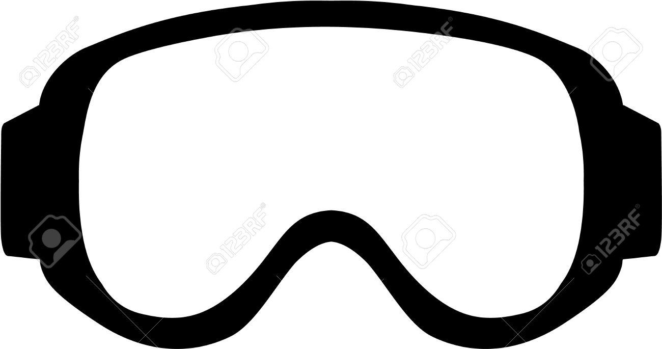 1300x685 Skiing Clipart Ski Goggles