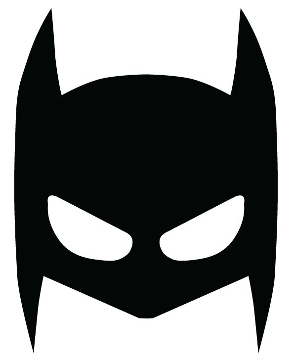 595x730 Best Batman Mask Ideas Batman Party Costume