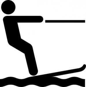 298x300 Water Ski Clip Art Download