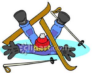 300x241 Skiing Clip Art