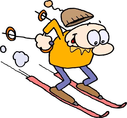500x466 skiing clip art
