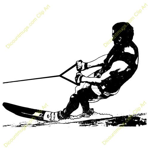 500x500 Ski Clipart Skii