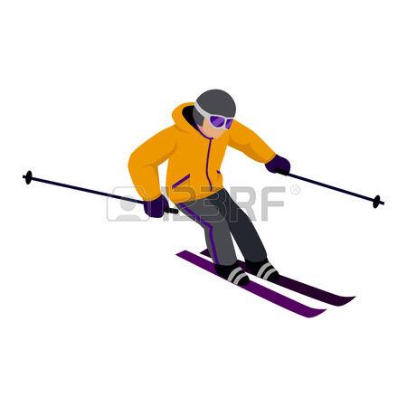 450x450 Skiing Clipart Skii