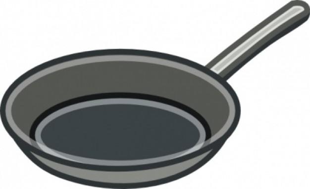 626x381 Frying Pan Clip Art Clipart Panda