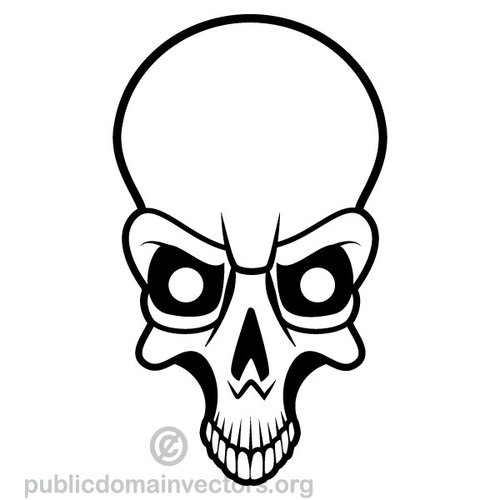 Skull And Bones Clipart