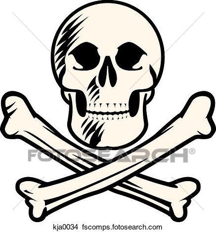Skull And Bones Clipart