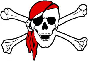 300x210 Skull And Bones Clip Art Download