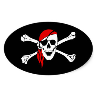324x324 Skull And Bones Stickers Zazzle