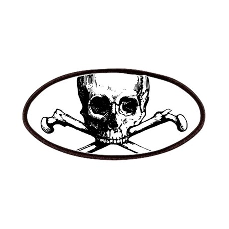 460x460 Skull And Crossbones Patches Iron On Skull And Crossbones Patches