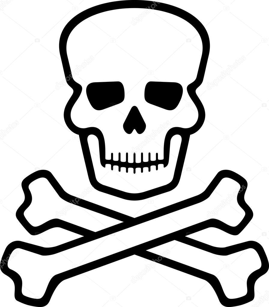 896x1024 Skull And Bones Stock Vector Tribaliumivanka