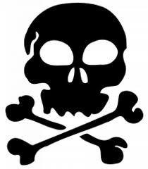 210x240 Cute Skulls And Bones Stencils Skull And Crossbones Cute