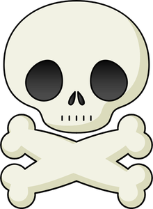 Skull And Cross Bones Clipart