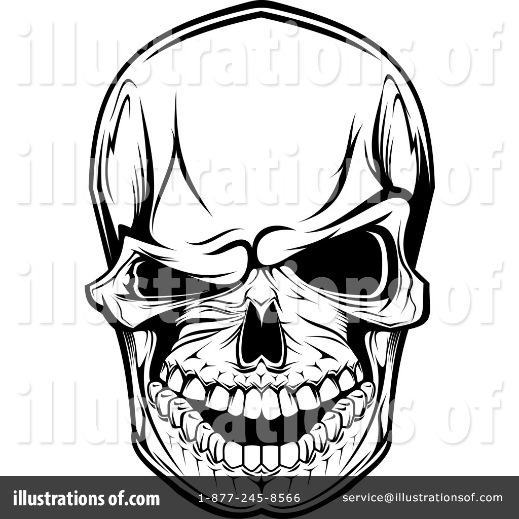 1024x1024 Skull And Crossbones Border Corner Clipart