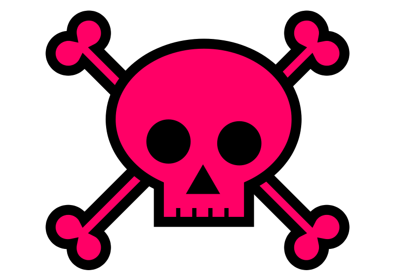 800x566 Skull And Crossbones Clip Art Free Vector In Open Office Drawing