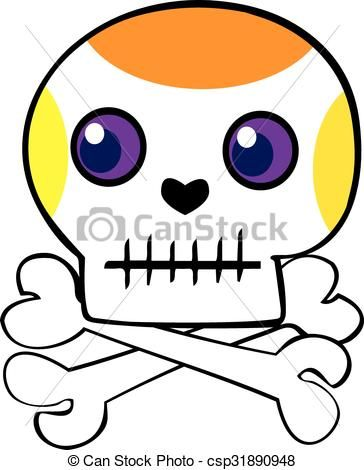 Skull And Crossbone Clipart
