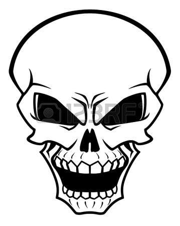 359x450 Danger Clipart Simple Skull