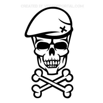 Skull And Crossbones Clipart