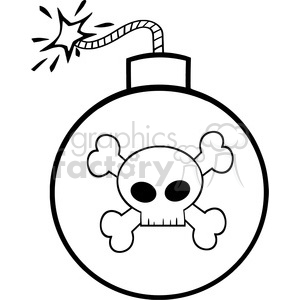 Skull And Crossbones Image Clipart