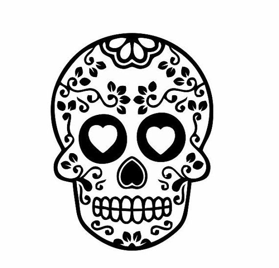 Skull Clipart Black And White