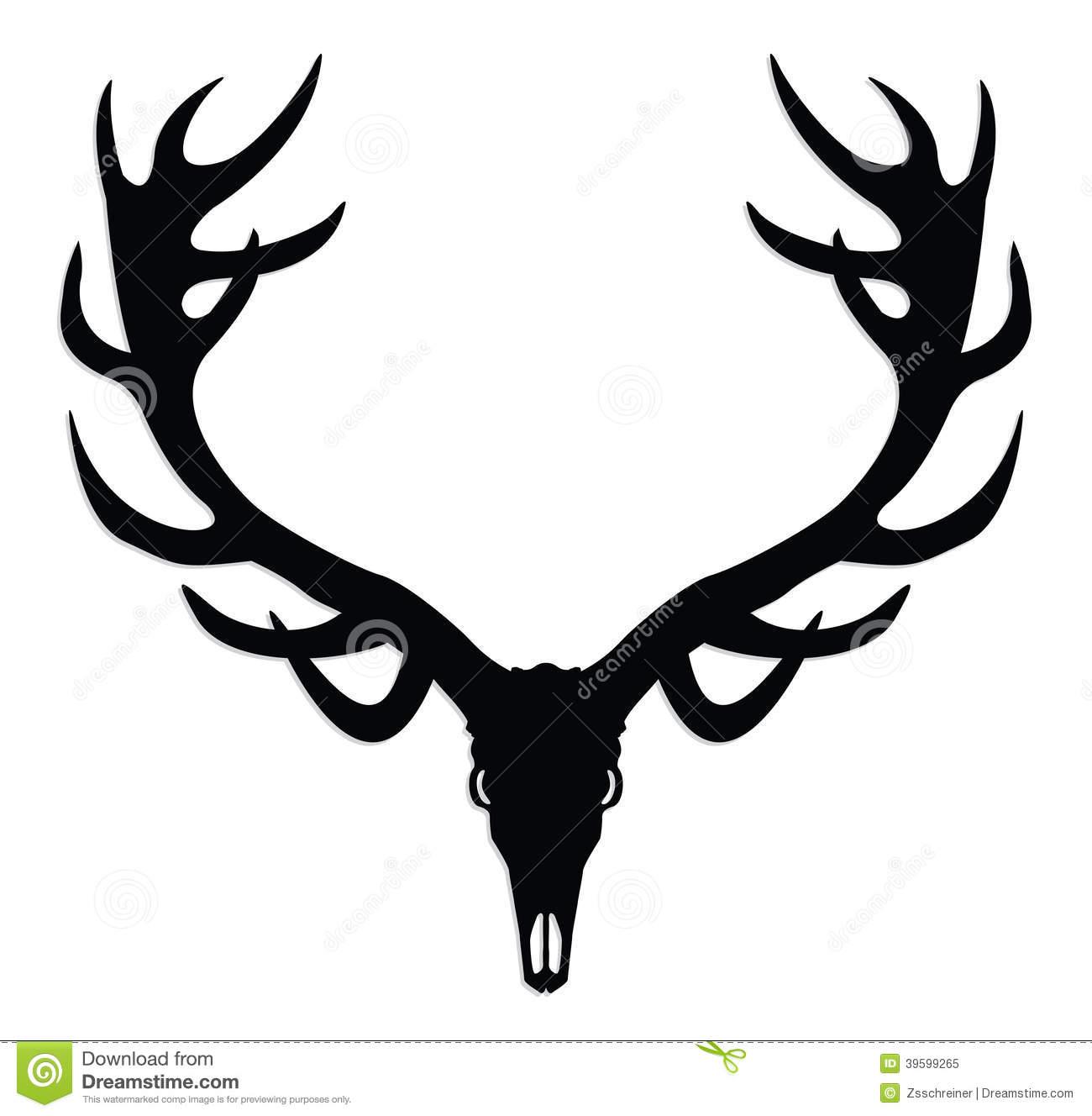 Collection Of Deer Skull Clipart Free Download Best Deer
