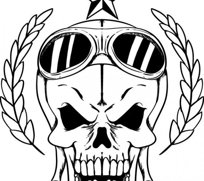 678x600 Pictures Of Skulls To Color Free Printable Skull Coloring Pages