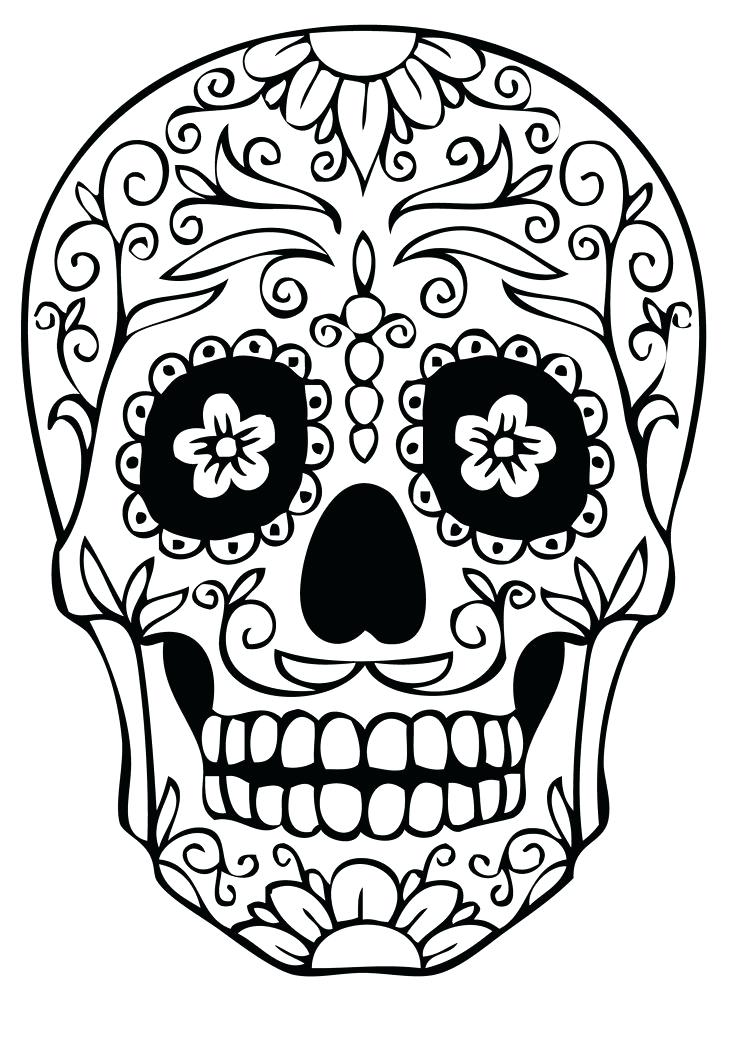 736x1041 Sugar Skull Coloring Pages For Adults Yahoo Image Search Results