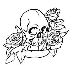 230x230 Top 15 Skull Coloring Pages For Your Little One