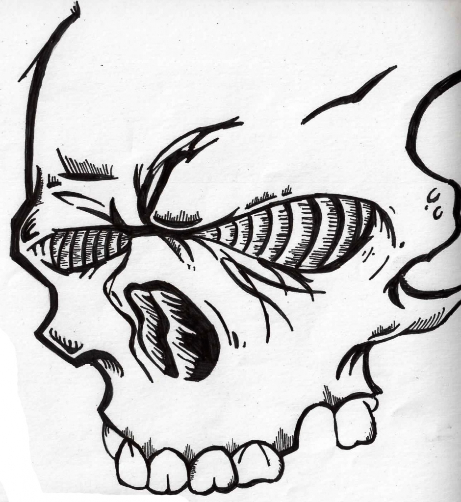 940x1024 Graffiti Drawing Skull Drawing Skull Graffiti