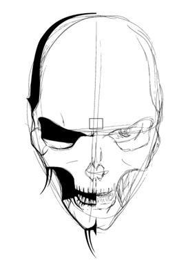 270x378 Illustrate A Malevolent Skull In 8 Steps