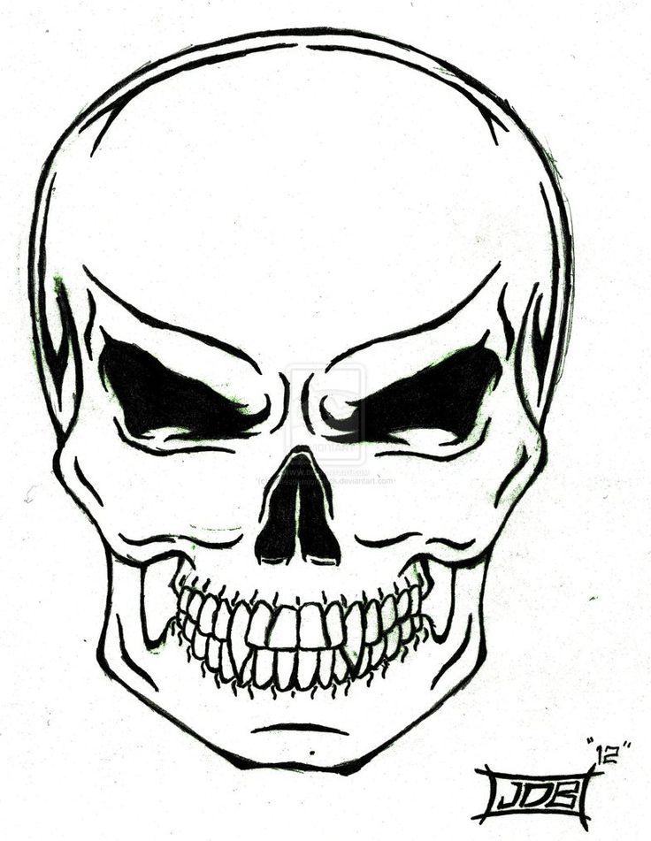 736x951 Best Simple Skull Drawing Ideas Skull Drawings
