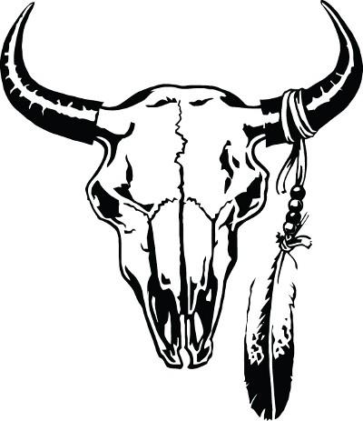 400x463 Bull Skull Clipart 1927644