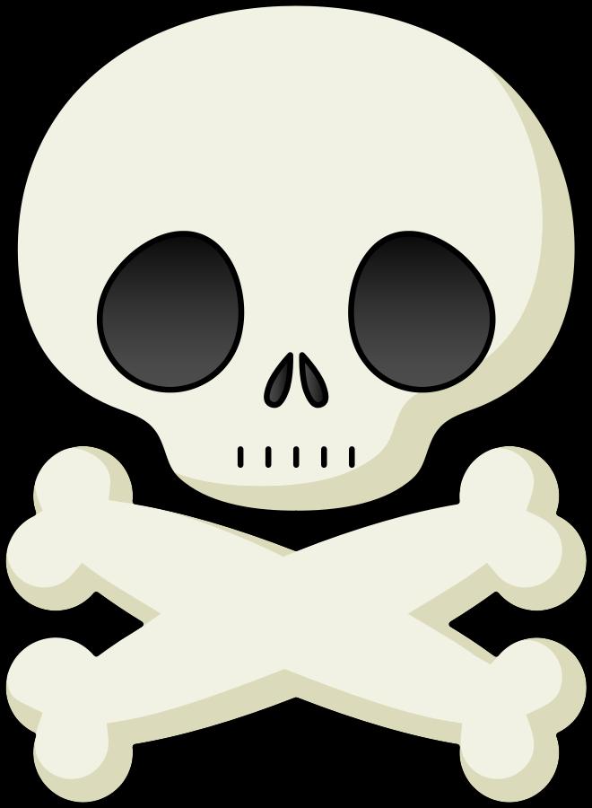 660x900 Skull Clipart Graphics