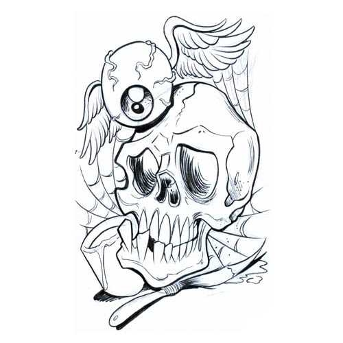 500x500 Free Skull Tattoo Designs To Print Free Download Clip Art Free