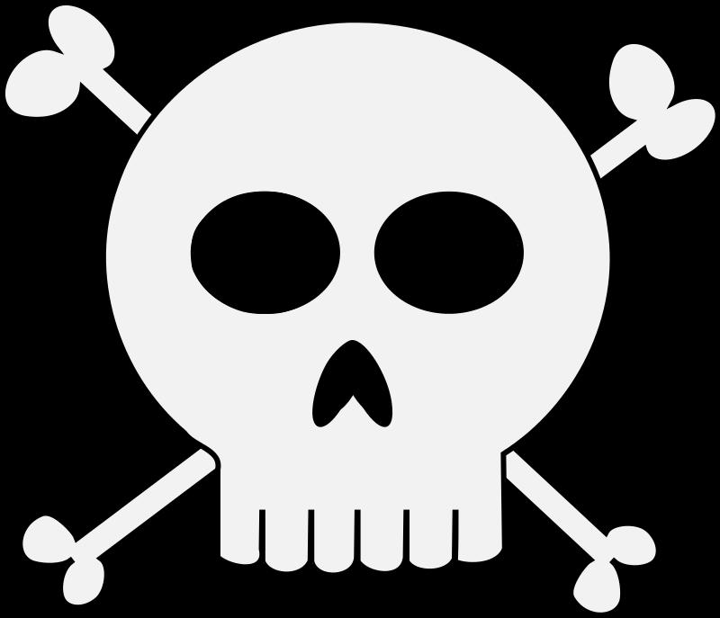800x687 Skull Clip Art