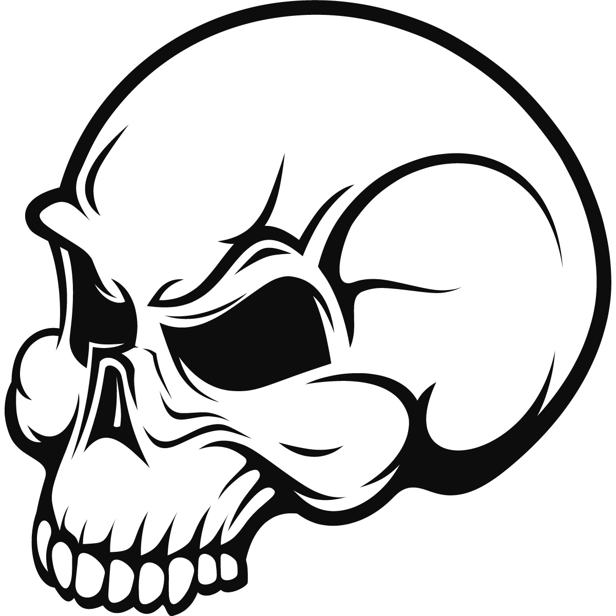 1200x1200 Drawings Of Really Scary Skulls Skull Drawings Pics Free