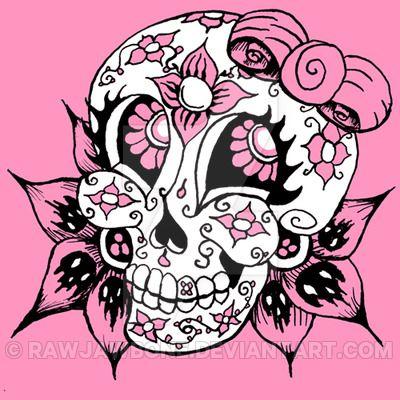 400x400 822 Best Sugar Skull Images Sugar Skulls, Art